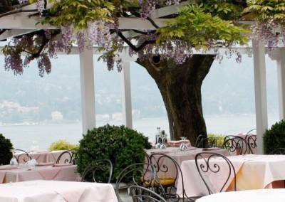 Restaurantgarten am See