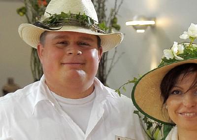 Björn und Cordula Brand auf einer Gartenmesse